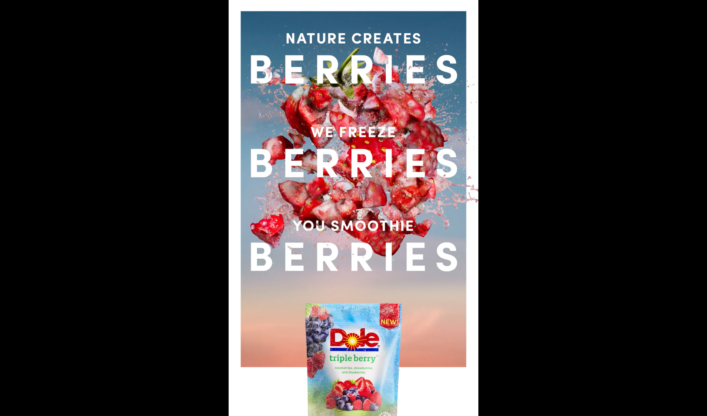 DOLE – Tripple Berries